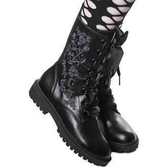 Klin ženski škornji - KILLSTAR, KILLSTAR