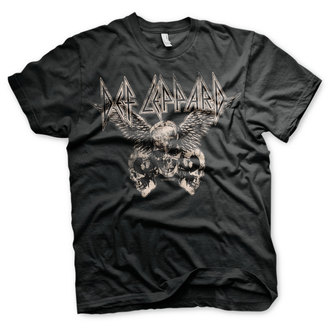 Moška metal majica Def Leppard - Flying Skulls - HYBRIS, HYBRIS, Def Leppard