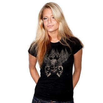 Ženska metal majica Def Leppard - Flying Skulls - HYBRIS, HYBRIS, Def Leppard