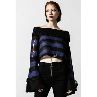 Ženski pulover KILLSTAR - Ether Knit - Črna / Midnight - KSRA004138