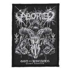 Našitek ABORTED - GOD OF NOTHING - RAZAMATAZ, RAZAMATAZ, Aborted
