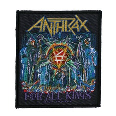 Našitek ANTHRAX - FOR ALL KINGS - RAZAMATAZ, RAZAMATAZ, Anthrax