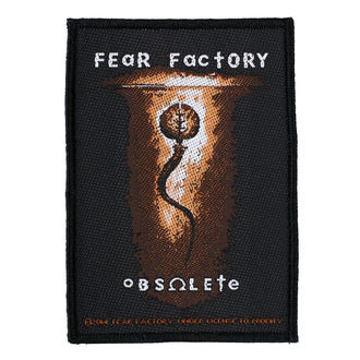 Našitek FEAR FACTORY - OBSOLETE - RAZAMATAZ, RAZAMATAZ, Fear Factory