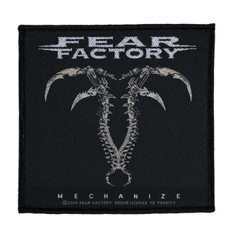Našitek FEAR FACTORY - MECHANIZE - RAZAMATAZ, RAZAMATAZ, Fear Factory