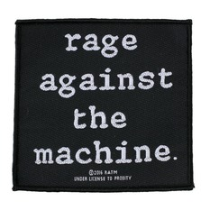 Našitek RAGE AGAINST THE MACHINE - LOGO - RAZAMATAZ, RAZAMATAZ, Rage against the machine