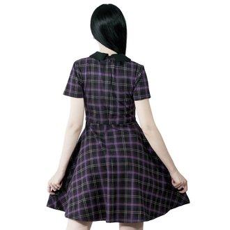 Ženska obleka KILLSTAR - Feri - TARTAN, KILLSTAR
