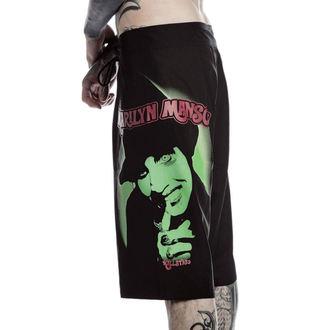 Kratke hlače Moški (kopalke) KILLSTAR - Marilyn Manson - Fiend - Črno, KILLSTAR, Marilyn Manson
