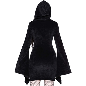 Ženska obleka KILLSTAR - Forbidden Studded - Črna, KILLSTAR