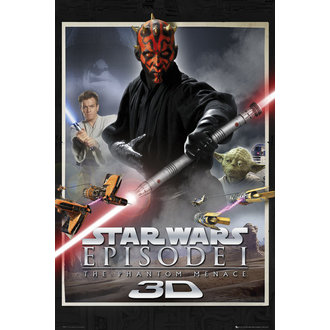 plakat Star Wars - Episode 1 One Sheet - GB Posters, GB posters