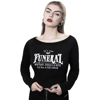 Ženska majica (brez kapuce) - Funeral - KILLSTAR, KILLSTAR
