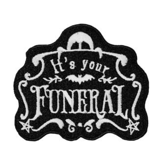 likalni našitek (aplikacija) KILLSTAR - Funeral, KILLSTAR