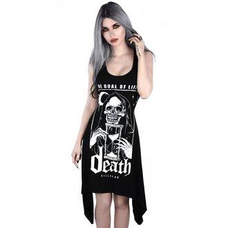 Ženska obleka KILLSTAR - GOALS - BLACK, KILLSTAR