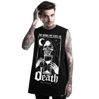 Unisex majica brez rokavov KILLSTAR - GOALS - BLACK, KILLSTAR