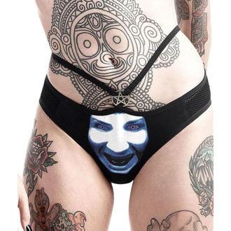 Hlačke Ženske KILLSTAR - Marilyn Manson - Bog za Jebemti - Črno, KILLSTAR, Marilyn Manson