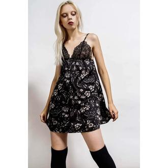 ženska pižama (spalna srajca) KILLSTAR - Guilty Pleasure - Črna, KILLSTAR