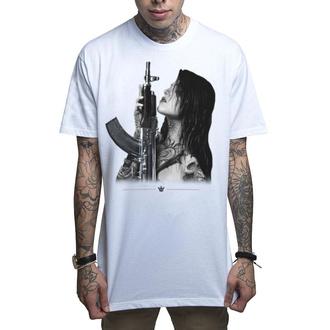 Moška hardcore majica MAFIOSO - GUN PLAY - WHT, MAFIOSO