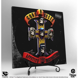 Dekoracija Guns N' Roses - Appetite for Destruction, KNUCKLEBONZ, Guns N' Roses