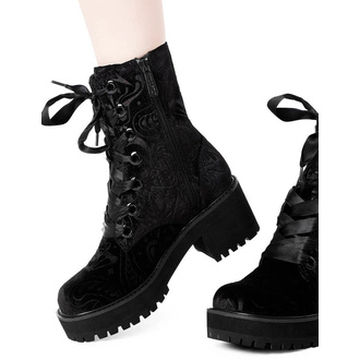 Ženski škornji KILLSTAR - Heather Combat, KILLSTAR