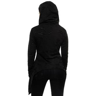 Ženska majica KILLSTAR - Hex Hooded - Črna, KILLSTAR