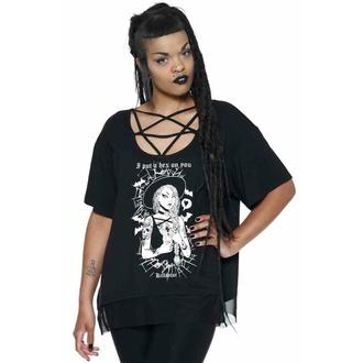 Ženska majica KILLSTAR - Hex Pentagram - Črna, KILLSTAR