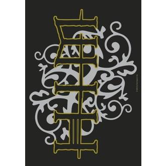 Zastava Him - Gold & Silver Logo, HEART ROCK, Him