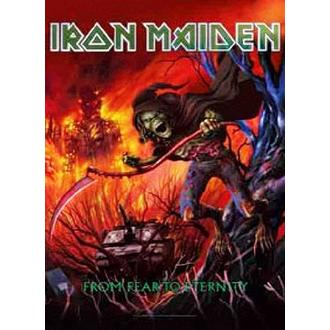 Zastava Iron Maiden - from Fear to Eternity, HEART ROCK, Iron Maiden