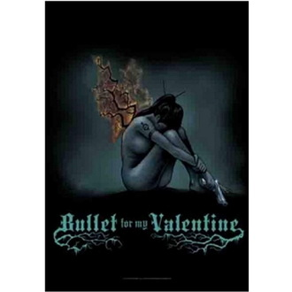Zastava Bullet For My Valentine - Burning Wings, HEART ROCK, Bullet For my Valentine