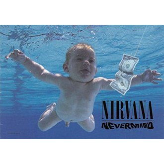 Zastava Nirvana - Nevermind, HEART ROCK, Nirvana