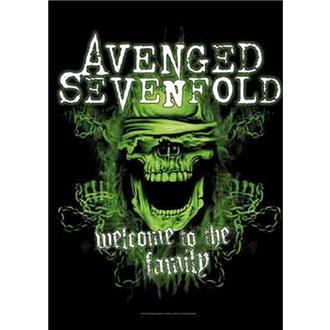 Zastava Avenged Sevenfold - Welcome to the Family, HEART ROCK, Avenged Sevenfold