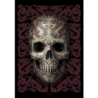 Zastava Anne Stokes - Oriental Skull, ANNE STOKES