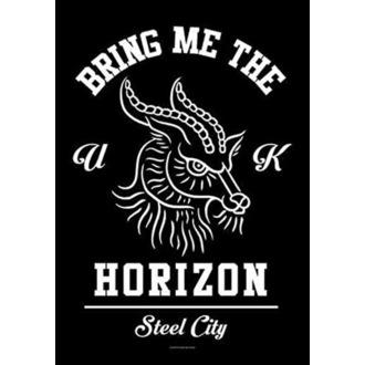 Zastava Bring Me the Horizon - Goat, HEART ROCK, Bring Me The Horizon
