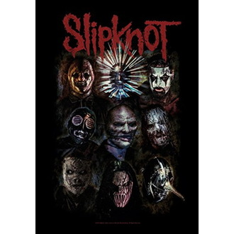 Zastava Slipknot - Oxidized, HEART ROCK, Slipknot
