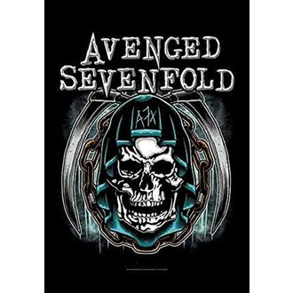 Zastava Avenged Sevenfold - Holy Reaper, HEART ROCK, Avenged Sevenfold