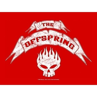 zastava Offspring - Banner, HEART ROCK, Offspring