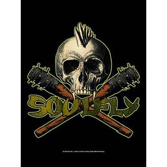 zastava Soulfly - Skull, HEART ROCK, Soulfly