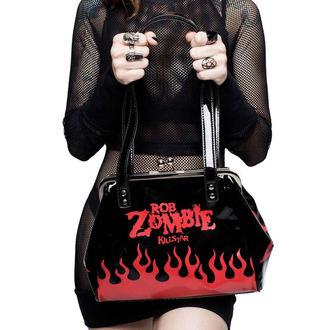 Ročna torbica KILLSTAR - Rob Zombie - Hot Hell - ČRNA, KILLSTAR, Rob Zombie