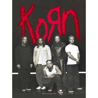 Zastava Korn - Hanger, HEART ROCK, Korn