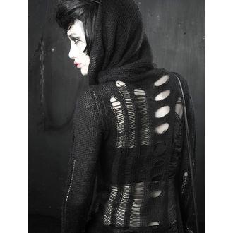 pulover ženske PUNK RAVE - Turtleneck Holey, PUNK RAVE