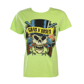 Ženska majica Guns N' Roses - DEATH SKULL - OCEAN BARVA ZELENA - AMPLIFIED, AMPLIFIED, Guns N' Roses