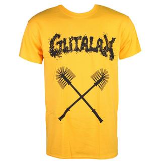 Moška majica GUTALAX - toilet brushes - zlata - ROTTEN ROLL REX, ROTTEN ROLL REX, Gutalax