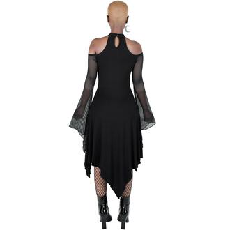 Ženska obleka KILLSTAR - Infernal Angel - Črna, KILLSTAR