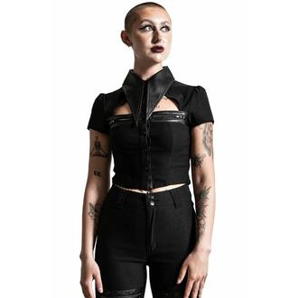 Ženska majica KILLSTAR - Insomnia Crop - Črna, KILLSTAR