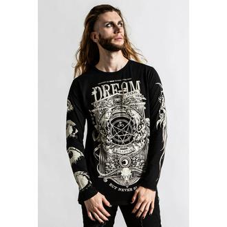 Moška majica z dolgimi rokavi KILLSTAR - Insomnia - Črna, KILLSTAR