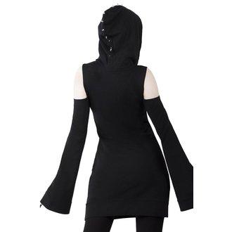 Ženska obleka KILLSTAR - Iza Jersey - BLACK, KILLSTAR