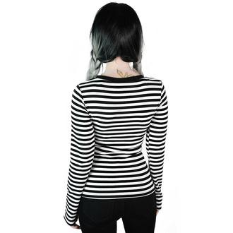Ženska majica z dolgimi rokavi KILLSTAR - Jett - BELA, KILLSTAR