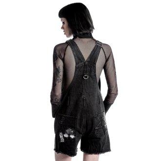 Kratke hlače ženske KILLSTAR - Jinx Cursed Cutie - Črno, KILLSTAR