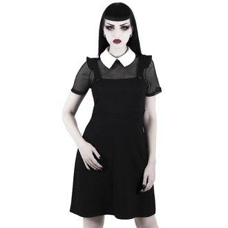 Ženska obleka (komplet) KILLSTAR - Juju Pinafore - Črno, KILLSTAR