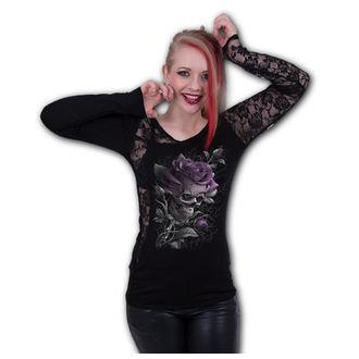 Ženska majica - SKULL ROSE - SPIRAL, SPIRAL