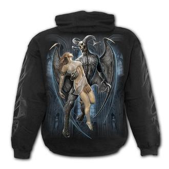 Moška jopa s kapuco - DEVIL BEAUTY - SPIRAL, SPIRAL