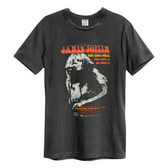 Moška metal majica JANIS JOPLIN - MADISON SQUARE GARDENS - CHARCOAL - AMPLIFIED, AMPLIFIED, Janis Joplin